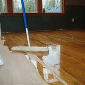 Hardwood floor cleaner